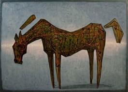 Zielony koń