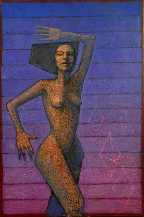 Obraz do salonu artysty Grzegorz Klimek pod tytułem Tancerka