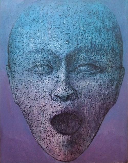 Obraz do salonu artysty Grzegorz Klimek pod tytułem Chórzysta