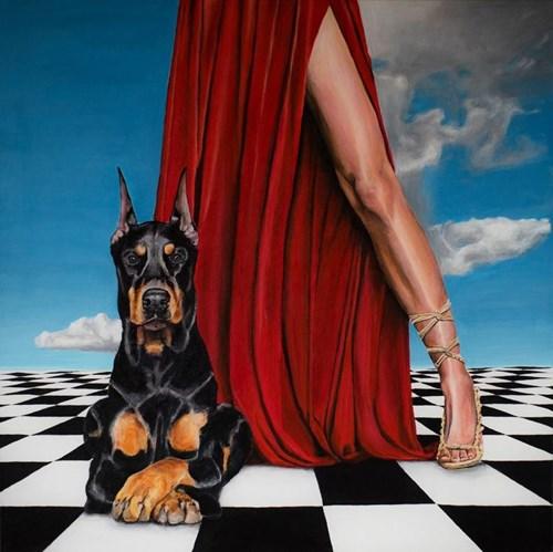 Obraz do salonu artysty Sławomir Setlak pod tytułem Ares