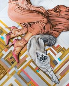 Obraz do salonu artysty Sławomir Setlak pod tytułem Sekrety