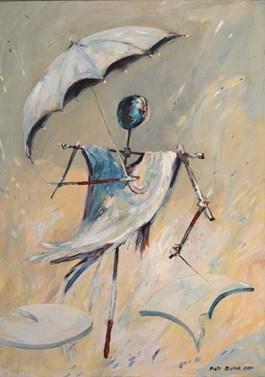 Obraz do salonu artysty Piotr Bubak pod tytułem Spacer