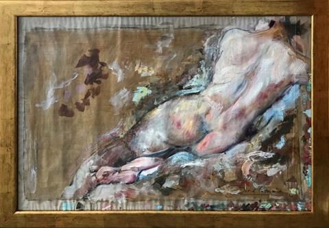 Obraz do salonu artysty David Pataraia pod tytułem Akt Kobiecy