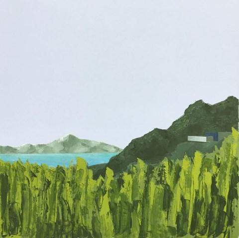Obraz do salonu artysty Łukasz Lepiorz pod tytułem W górach z cyklu Modernizm