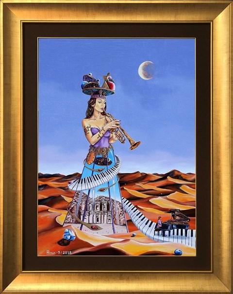 Obraz do salonu artysty Krzysztof Żyngiel pod tytułem Sonata Księżycowa