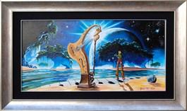 Obraz do salonu artysty Krzysztof Żyngiel pod tytułem Podróżując w nieznane