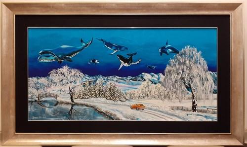 Obraz do salonu artysty Krzysztof Żyngiel pod tytułem Wytyczając nowe szlaki