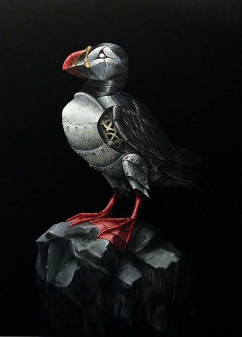Obraz do salonu artysty Emil Goś pod tytułem Maskonur zwyczajny