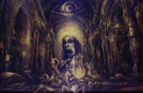Obraz do salonu artysty Andrzej Masianis pod tytułem Lilith