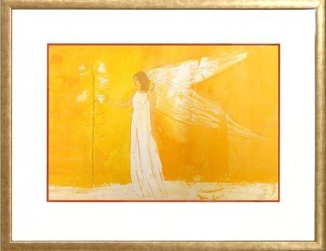 Obraz do salonu artysty Jacek Łydżba pod tytułem Anioł