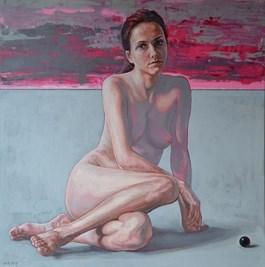 Obraz do salonu artysty Marcin Jaszczak pod tytułem Akt