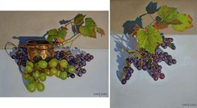 Grapes (diptych)