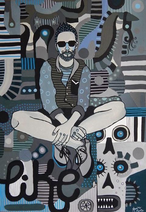 Obraz do salonu artysty Marcin Painta pod tytułem Szarość dnia