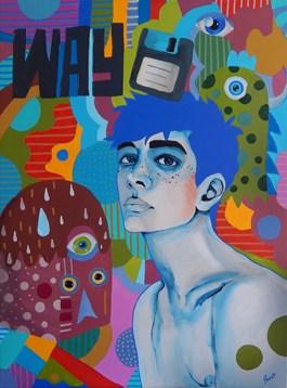 Obraz do salonu artysty Marcin Painta pod tytułem Way