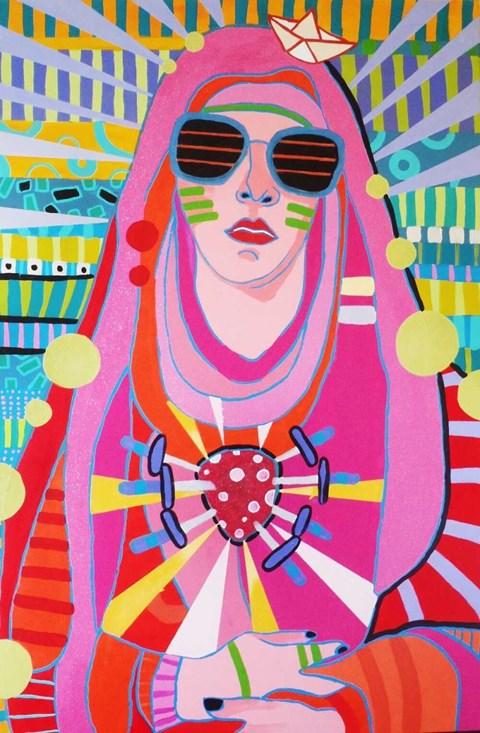 Obraz do salonu artysty Marcin Painta pod tytułem Madonna