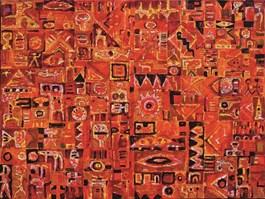 Obraz do salonu artysty Krzysztof Pająk pod tytułem 946 Pamięć Absolutna