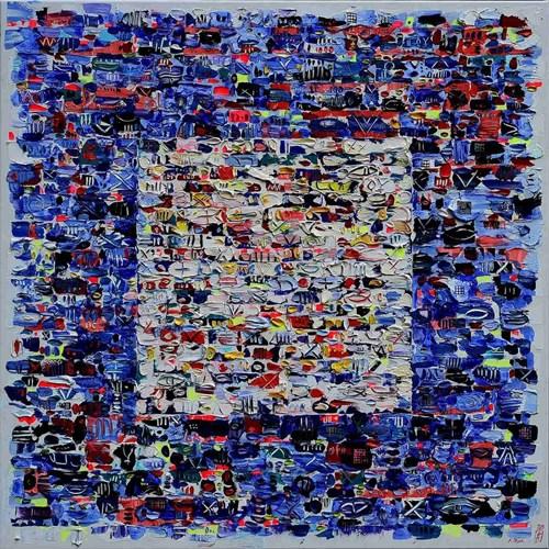 Obraz do salonu artysty Krzysztof Pająk pod tytułem Arctic Story
