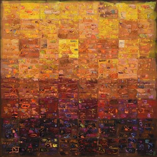 Obraz do salonu artysty Krzysztof Pająk pod tytułem Żółta bryza