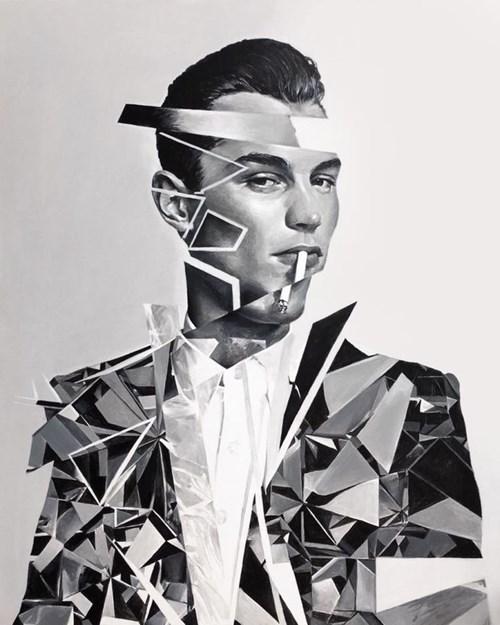 Obraz do salonu artysty Łukasz Biliński pod tytułem Fume