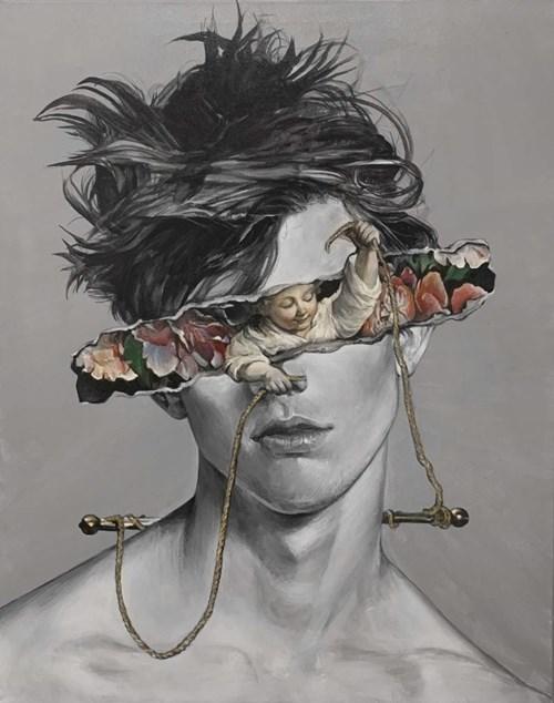 Obraz do salonu artysty Łukasz Biliński pod tytułem Inter Child