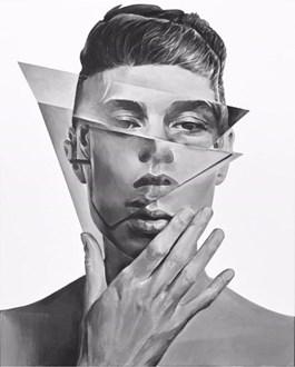 Obraz do salonu artysty Łukasz Biliński pod tytułem THE POINT