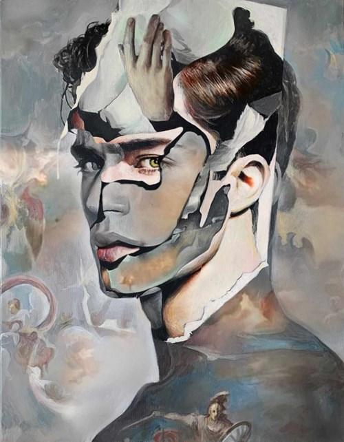 Obraz do salonu artysty Łukasz Biliński pod tytułem Imago
