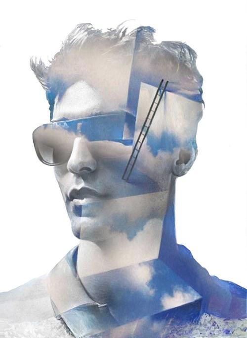 Obraz do salonu artysty Łukasz Biliński pod tytułem Use your imagination