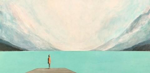 Obraz do salonu artysty Ilona Herc pod tytułem Miejsce