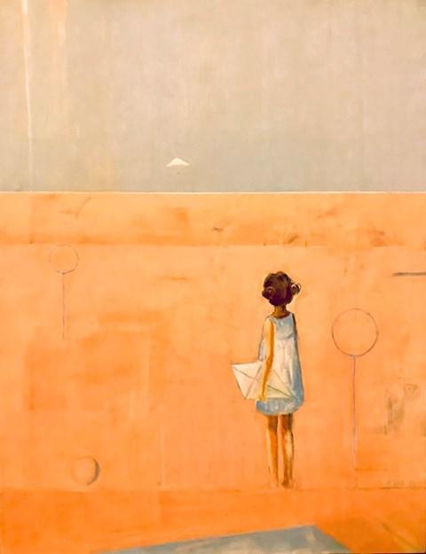 Obraz do salonu artysty Ilona Herc pod tytułem Miejsce początku
