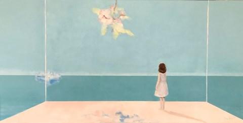 Obraz do salonu artysty Ilona Herc pod tytułem Miejsce początku. Przystań