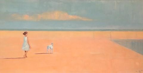 Obraz do salonu artysty Ilona Herc pod tytułem Przestrzeń marzeń I z cyklu Więź