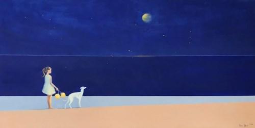 Obraz do salonu artysty Ilona Herc pod tytułem Lampiony