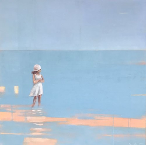 Obraz do salonu artysty Ilona Herc pod tytułem Miejsce początku II
