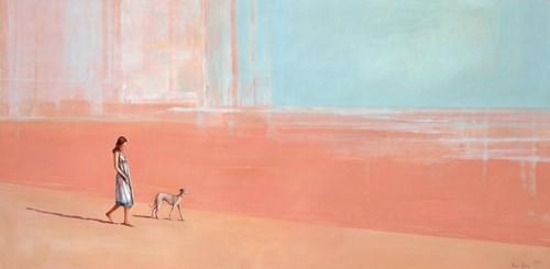 Obraz do salonu artysty Ilona Herc pod tytułem Z biegiem Warty