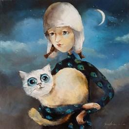 Obraz do salonu artysty Małgorzata Piątek-Grabczyńska pod tytułem Bez tytułu