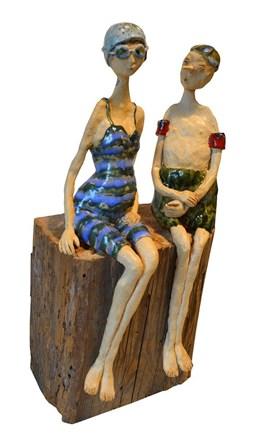 Living room sculpture by Małgorzata Piątek-Grabczyńska titled Godess