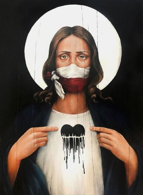 Obraz do salonu artysty Borys Fiodorowicz pod tytułem Zakładnik