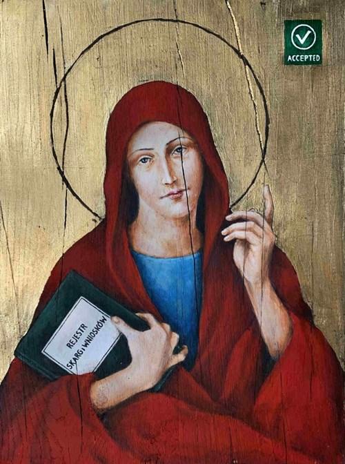 Obraz do salonu artysty Borys Fiodorowicz pod tytułem Litanie, litanie