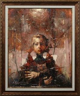 Obraz do salonu artysty Wacław Sporski pod tytułem Odnaleziony