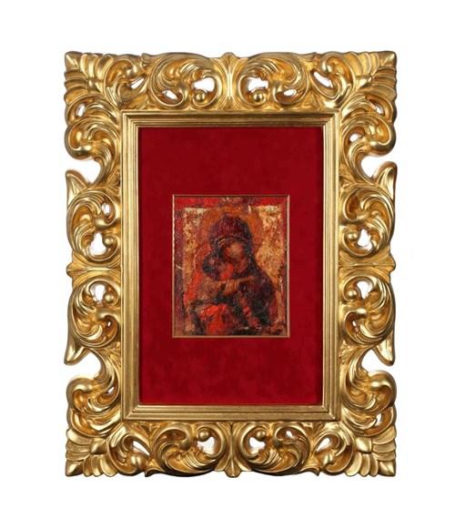 Obraz do salonu artysty Wacław Sporski pod tytułem Madonna z dzieciątkiem