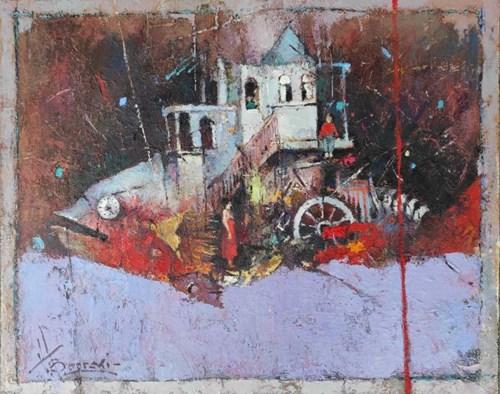 Obraz do salonu artysty Wacław Sporski pod tytułem Wieczny silnik