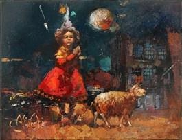 Obraz do salonu artysty Alex Sporski pod tytułem Pełnia
