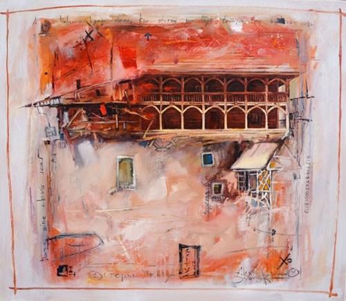 Obraz do salonu artysty Alex Sporski pod tytułem Stary lamus