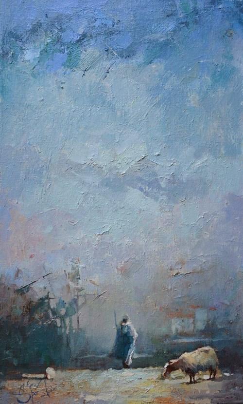 Obraz do salonu artysty Alex Sporski pod tytułem Wspomnienie
