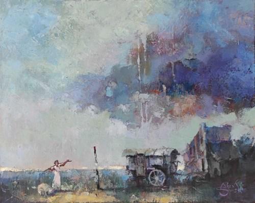 Obraz do salonu artysty Alex Sporski pod tytułem Przed burzą