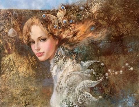 Obraz do salonu artysty Stanisław Sugintas pod tytułem Amber Wind