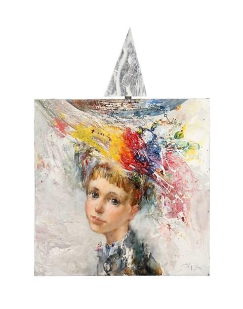 Obraz do salonu artysty Stanisław Sugintas pod tytułem Na falach mojej pamięci