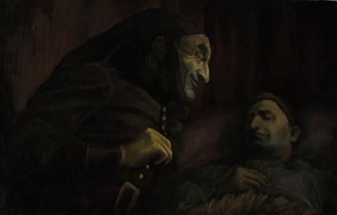 Obraz do salonu artysty Adam Oroń pod tytułem Sandman