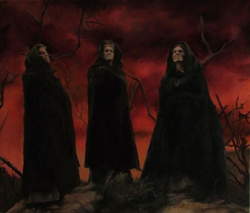 Obraz do salonu artysty Adam Oroń pod tytułem Three Sisters
