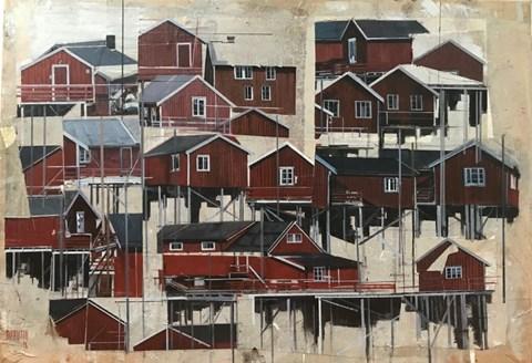 Obraz do salonu artysty Agata Krutul pod tytułem Community 2